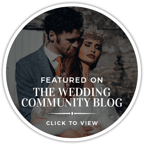 Featured On The Wedding Community