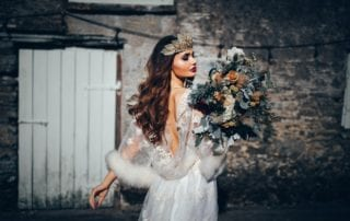 21 Rustic And Edgy Winter Wedding Styling At Trenderway